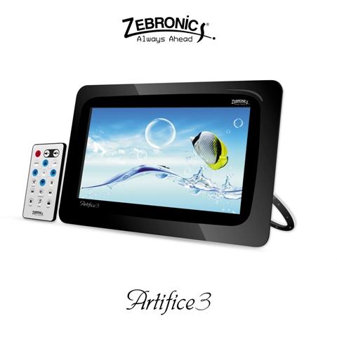 Zebronics Unveils Digital Photo Frame 'Artifice 3'