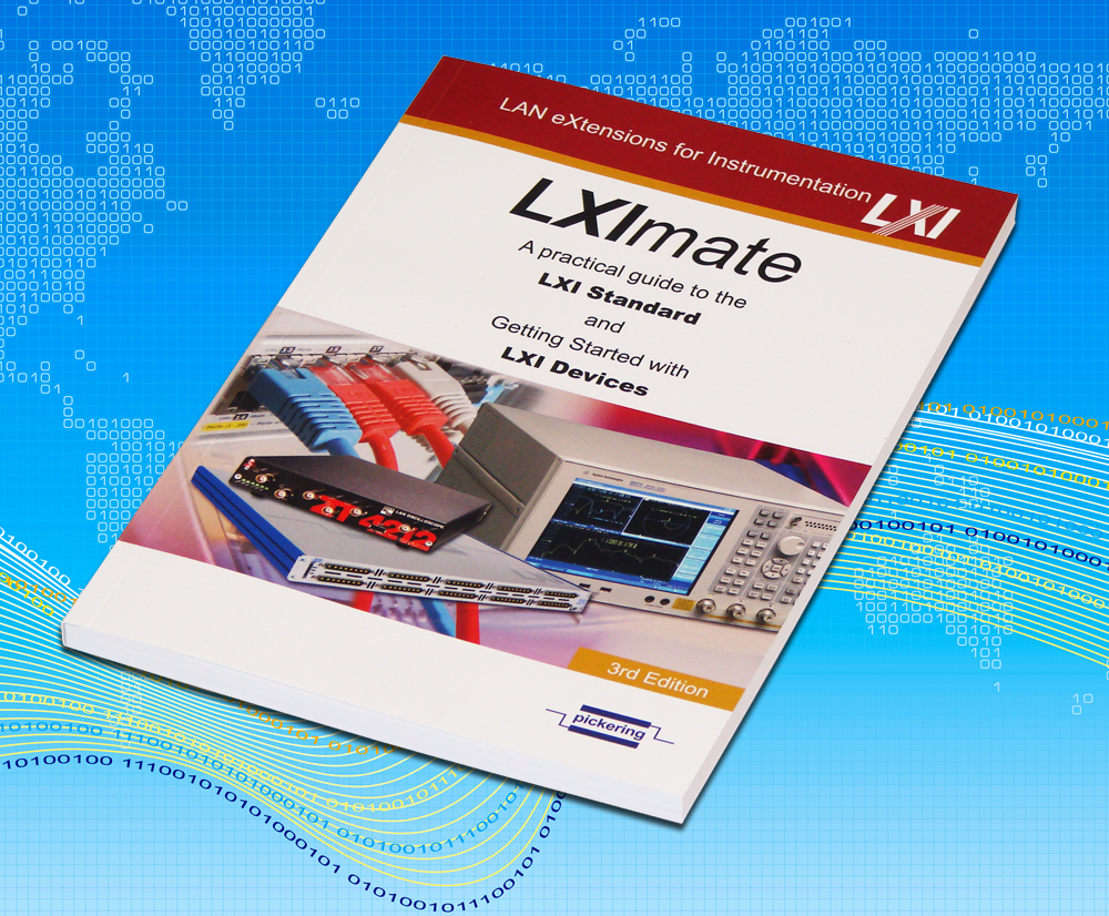 "Pickering Interfaces Releases New Edition of the Book –  ""LXImate"""