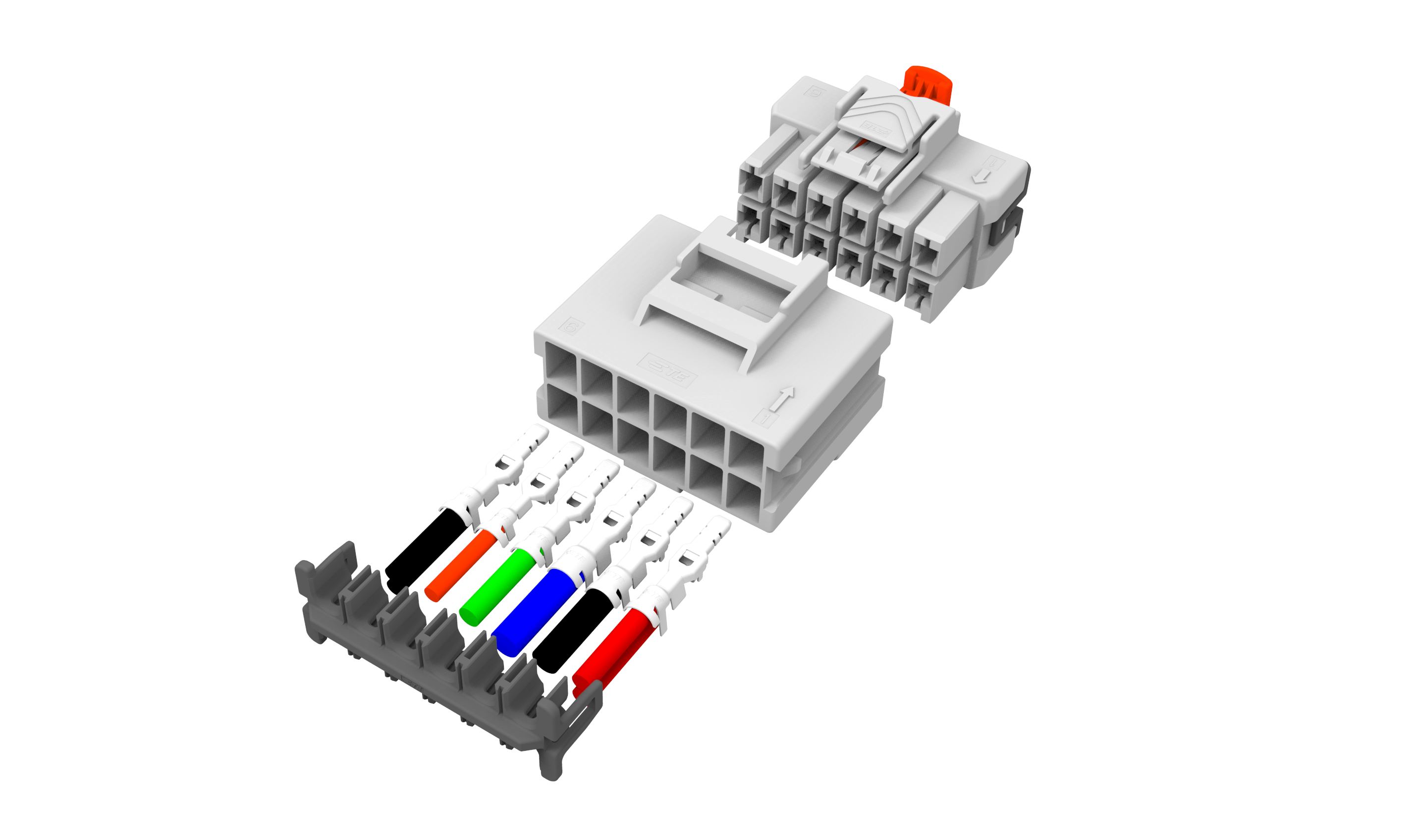 TE Launches Power Triple Lock Connector System Products Improve Connection Stability and Reliability