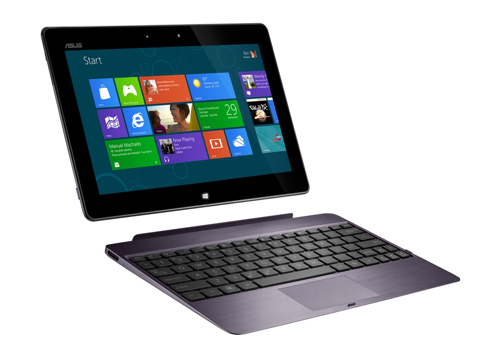 ASUS unveils the Transformer Book TX300: World's thinnest Window 8 Tablet and detachable Notebook