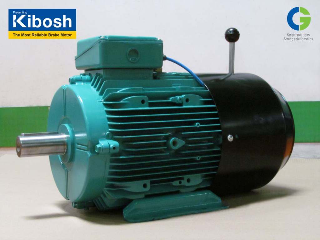 "CG launches ""KIBOSH"" – A Low Maintenance, Safe, Energy Efficient Brake Motor"