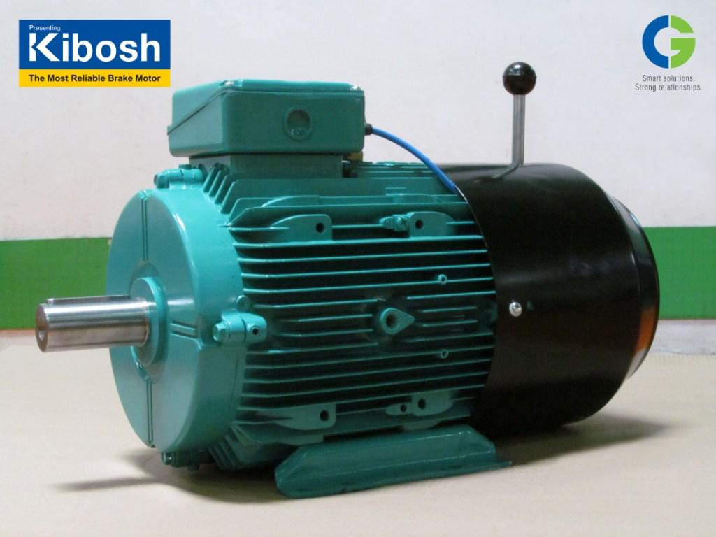 "CG launches ""KIBOSH"" – A Low Maintenance, Safe, Energy Efficient Brake Motor"