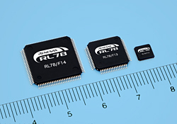 Renesas Electronics Introduces New 16-Bit Microcontrollers