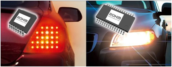 Automotive LED-Driver ICs Tail and headlamp/DRL