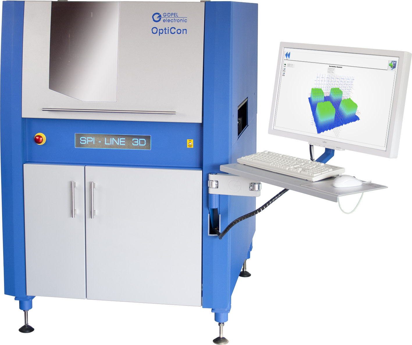 New System Software for Solder Paste Inspection with optimized 3D Calculation
