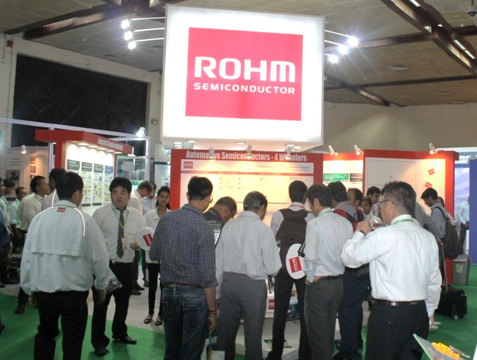 ROHM, a world's leading vertically-integrated manufacturer of Semiconductor devices from Japan, showcases application solutions for growing Indian market, including Automotive, Industrial and LED-lighting