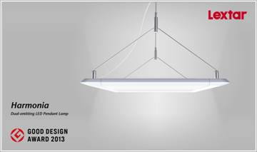 Lextar Wins Good Design Award 2013 for its Dual Emitting LED Pendant Lamp