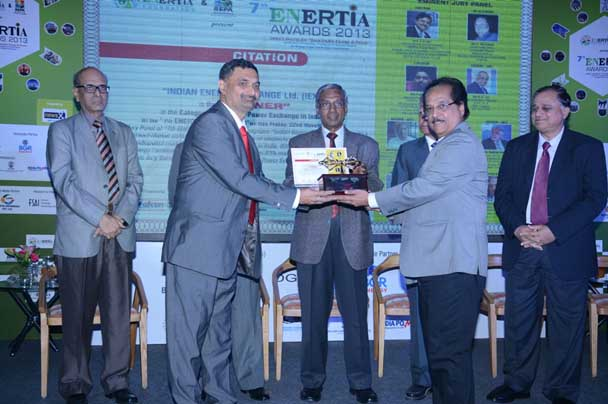 Enertia confers 'Best Power Exchange in India' Award on  Indian Energy Exchange (IEX)