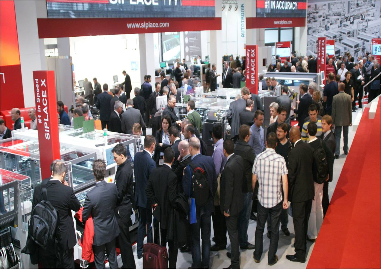SIPLACE: Successful Productronica 2013 trade show