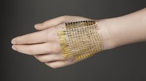 Flexible, Thin 'E-Skin' Lights Up When Touched