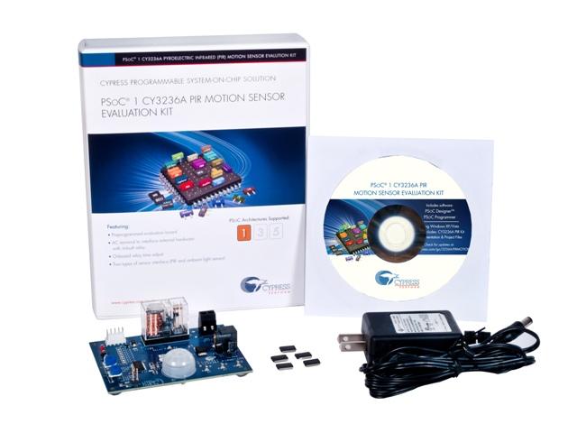Pyroelectric Infrared (PIR) Motion Detection Kit
