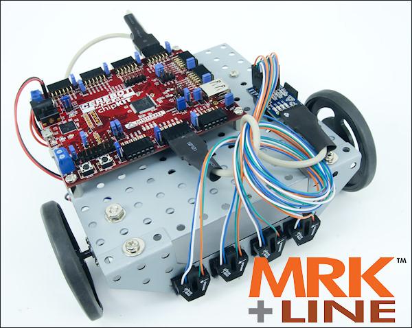 Line-Following Motor Robot Kit (MRK+Line)