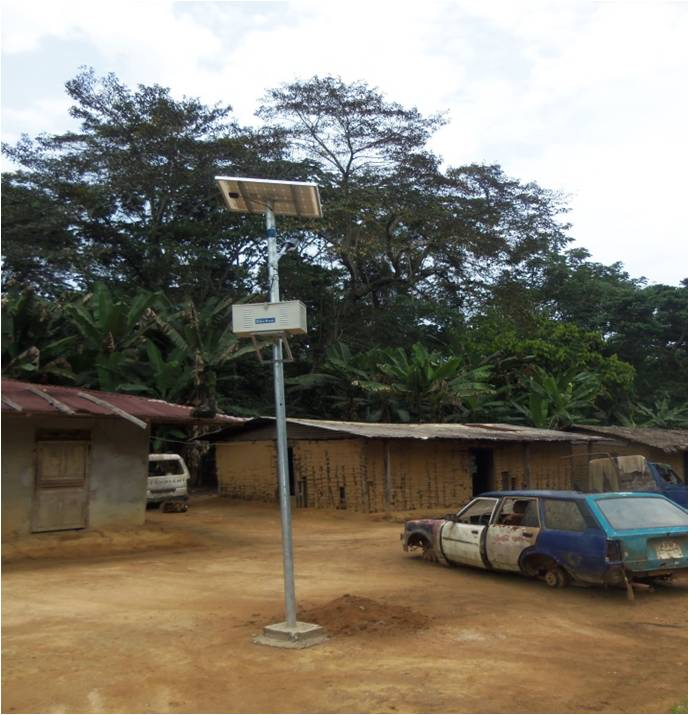 Su-Kam lights up remote villages in the African country Gabon with the power of solar energy
