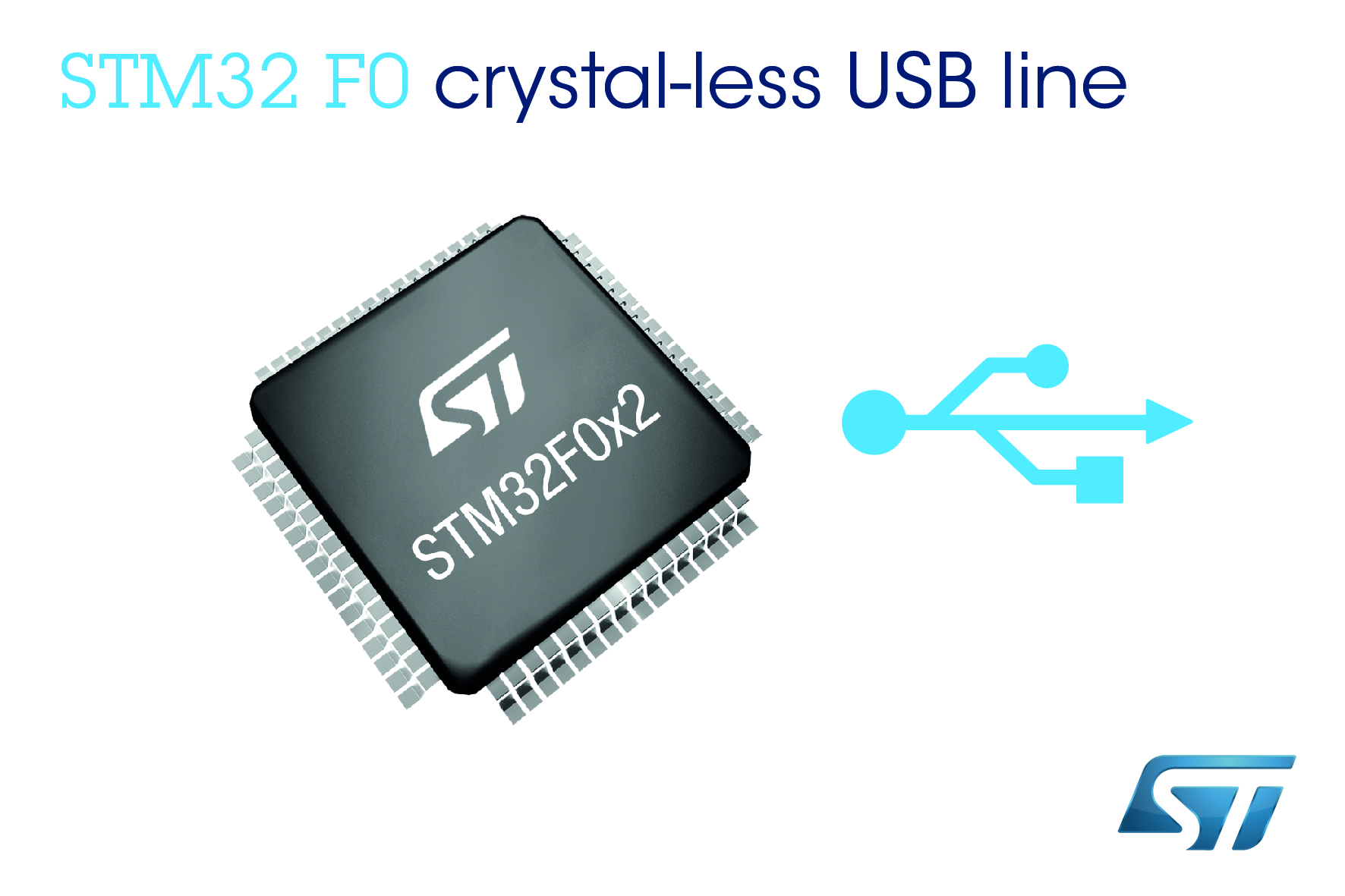 STMicroelectronics Reveals Industry's Best Connected STM32 F0 Microcontrollers for Cost-Sensitive Applications