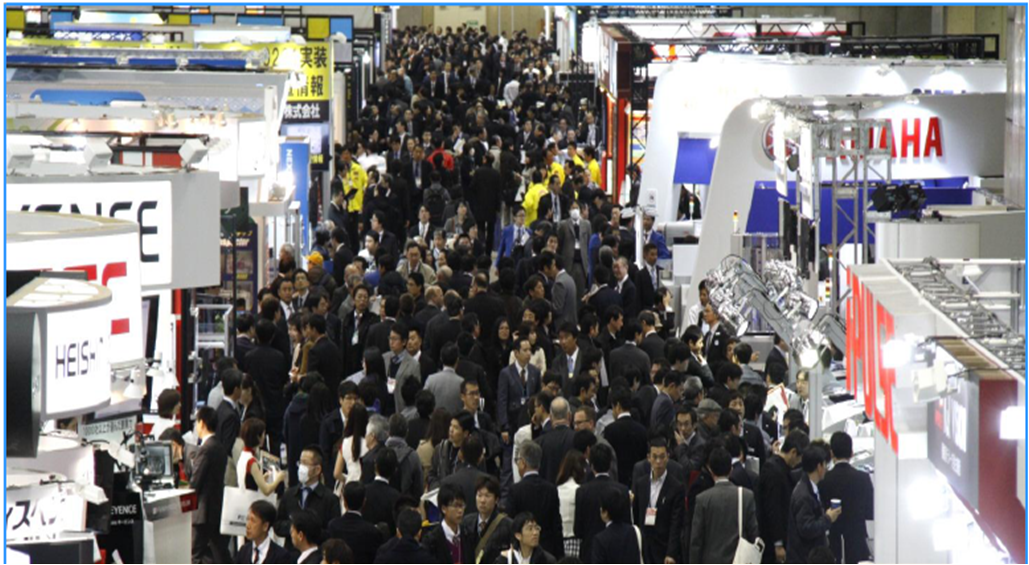NEPCON JAPAN 2014 renewed its own record again!  Asia's LARGEST with 1,767 exhibitors from all over Asia.