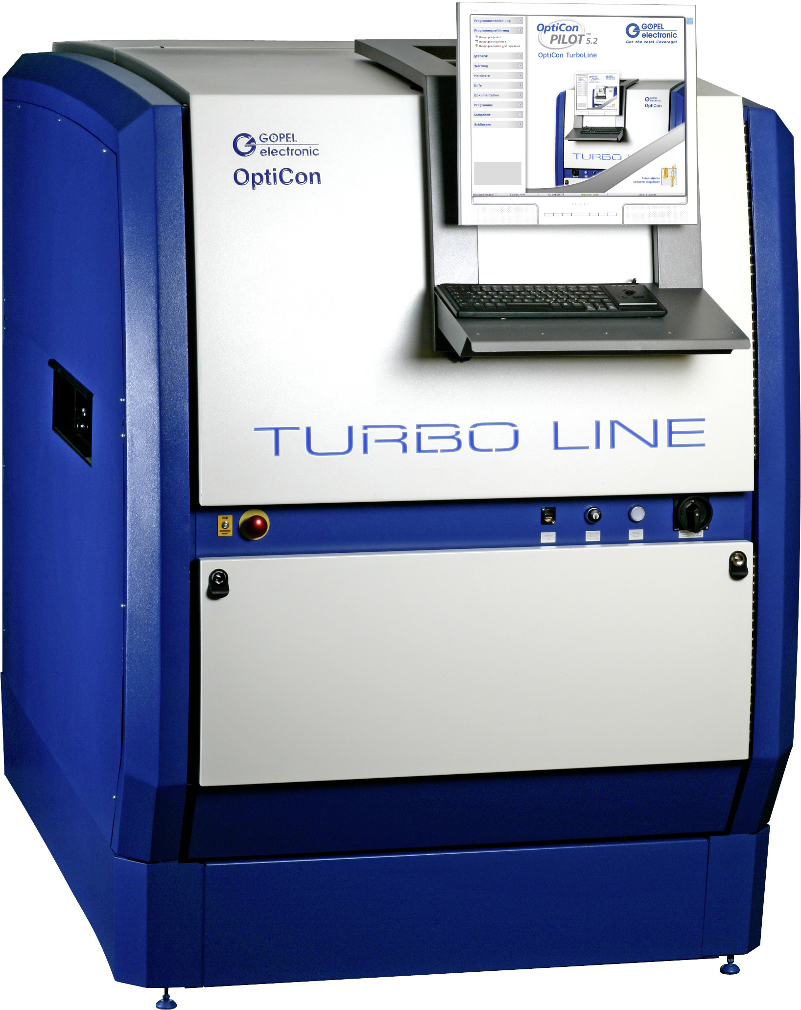 AOI System with Turbo – GOEPEL electronic doubles Inspection Speed