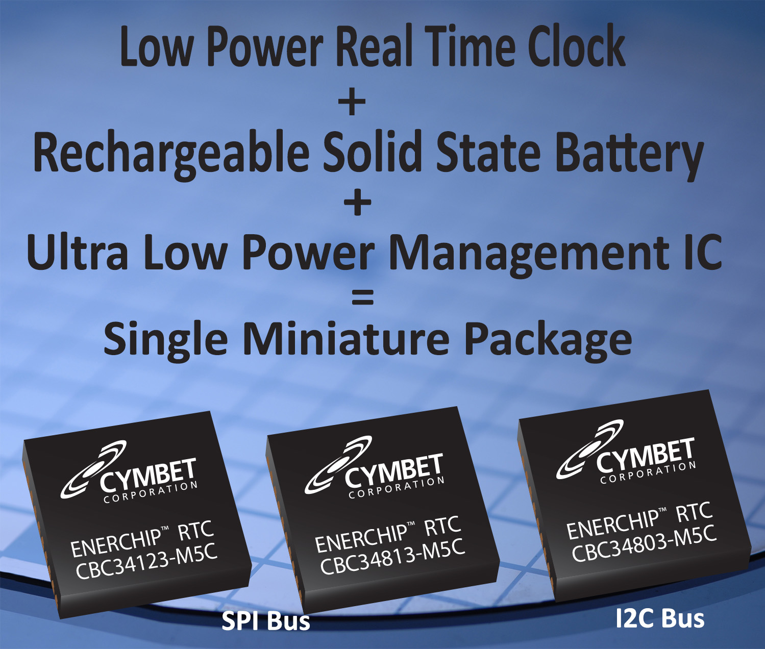 Cymbet Launches Ultra-low Power EnerChip™ RTC with Integrated Battery