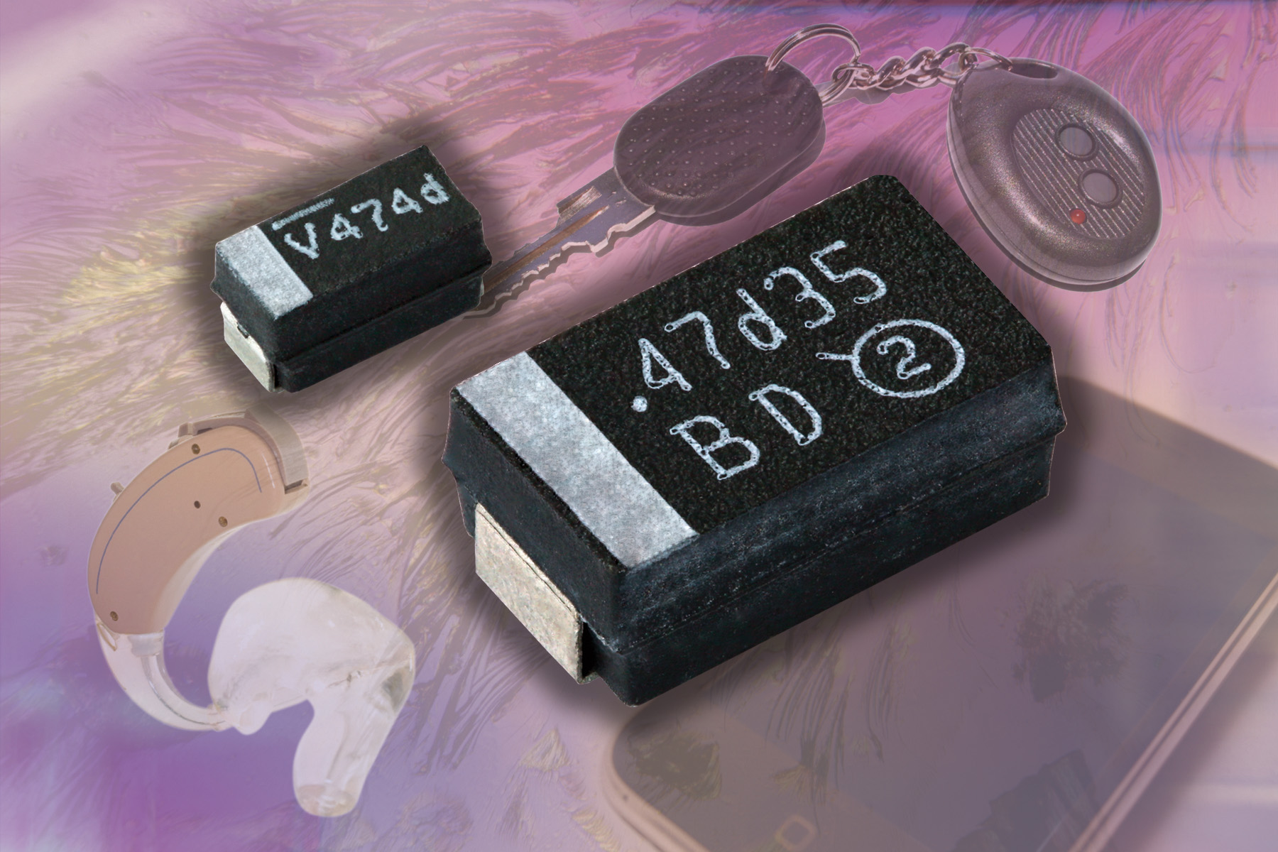 New Vishay SpragueTANTAMOUNT™ surface-mount moulded tantalum chip capacitors extend battery life of portable devices – from TTI Inc.