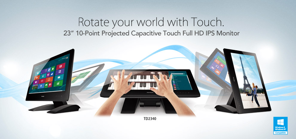 View Sonic aims to target the burgeoning LCD touchscreen industry in India
