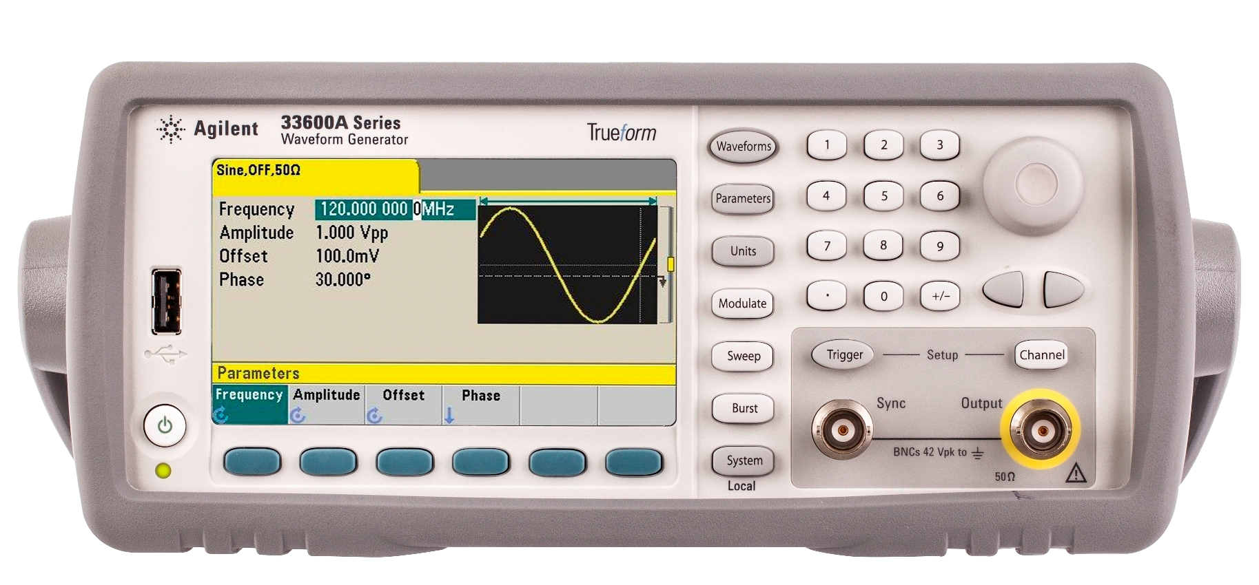 Agilent Technologies' 80- and 120-MHz Trueform Waveform Generators Deliver Unrivaled Capabilities and Signal Accuracy