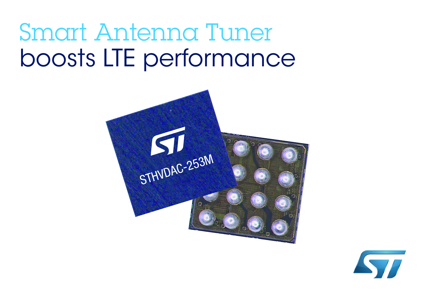 New Antenna-Tuning Circuit from STMicroelectronics Boosts LTE Smartphone Performance