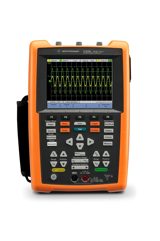 Portable Digital Oscilloscope : Why we see the market growing for handheld test and