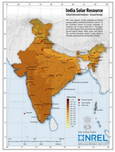India Solar Resources