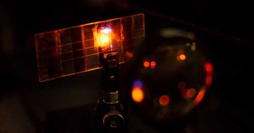 Scientists discovered Solar cell material which can emit light
