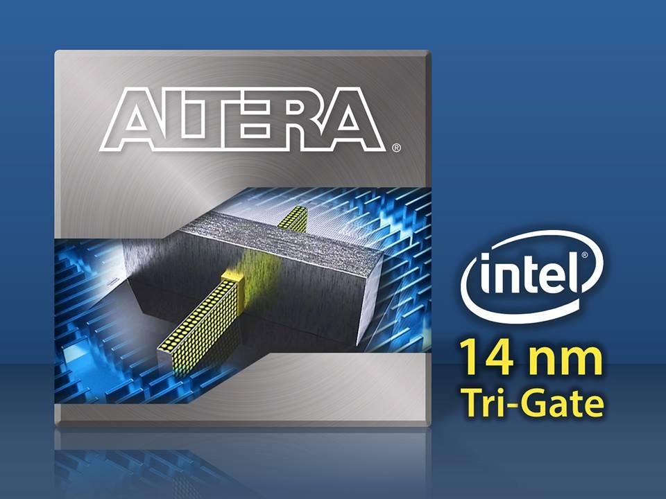 Altera Achieves Industry Milestone: Demonstrates FPGA TechnologyBased on Intel14 nm Tri-Gate Process