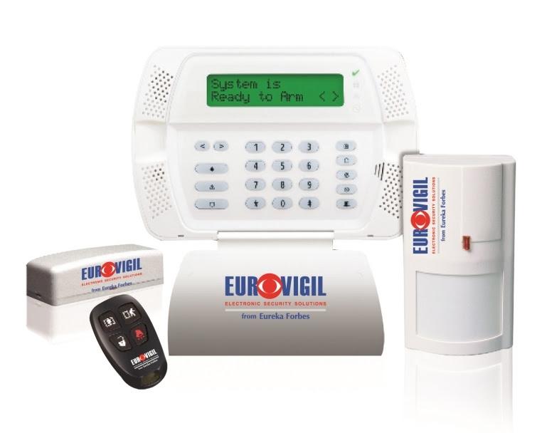 Intruder Alarm: Eurovigil I-Guard 300