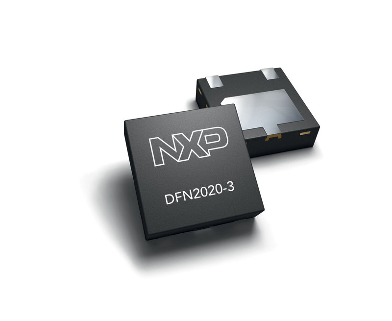 NXP offers Leadless TVS Diodes 2×2 mm package for space constraint mobile applications