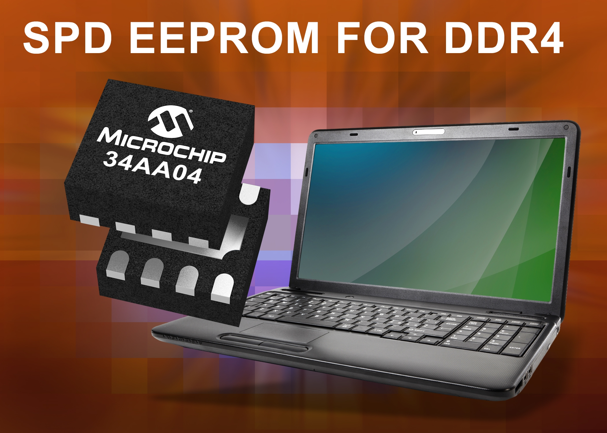 Microchip unveils 4Kb Serial Presence Detect EEPROM  for DDR4 SDRAM modules
