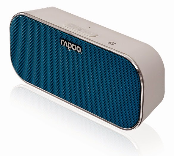 One-Tap Connection Perfect to Chat or Listen RAPOO A500 NFC Bluetooth Speaker