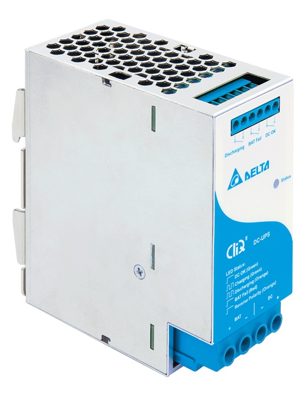 Delta Introduces CliQ II DC-UPS Module with Battery Management