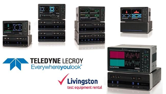 Livingston now rental Teledyne Lecroy Oscilloscopes