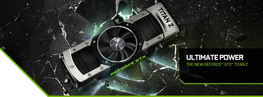 NVIDIA announce the immediate availability of GeForce GTX TITAN Z