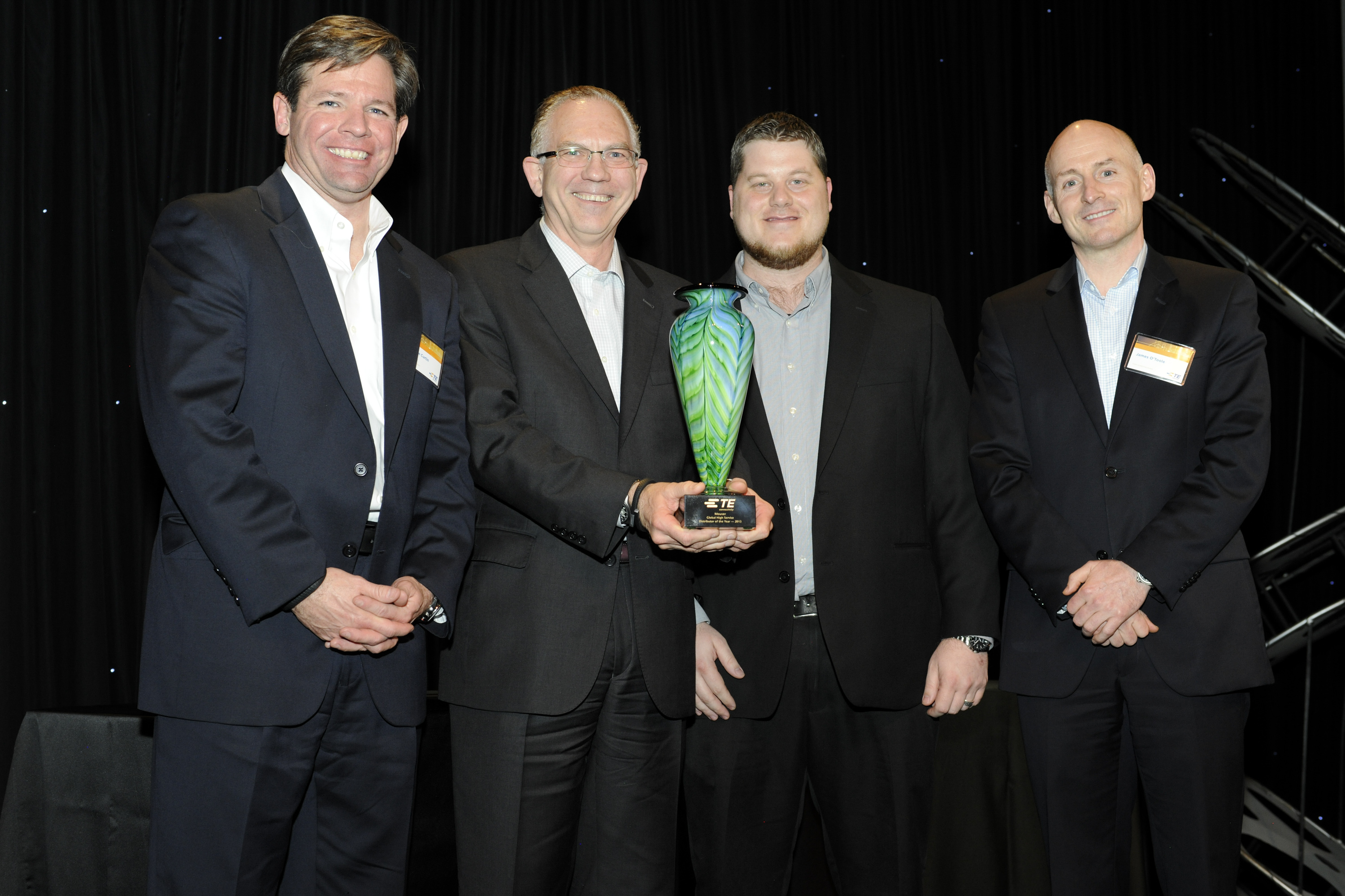 Mouser Electronics Named 2013 Catalog Global Distributor of the Year by TE Connectivity
