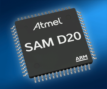 Touch the SleepWalking Atmel SAM-D20 MCU from Mouser with Single Cycle Multiply