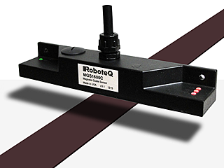 Roboteq Launches Enhanced Sensor for Guiding Robotic Vehicles along Invisible Magnetic Tracks