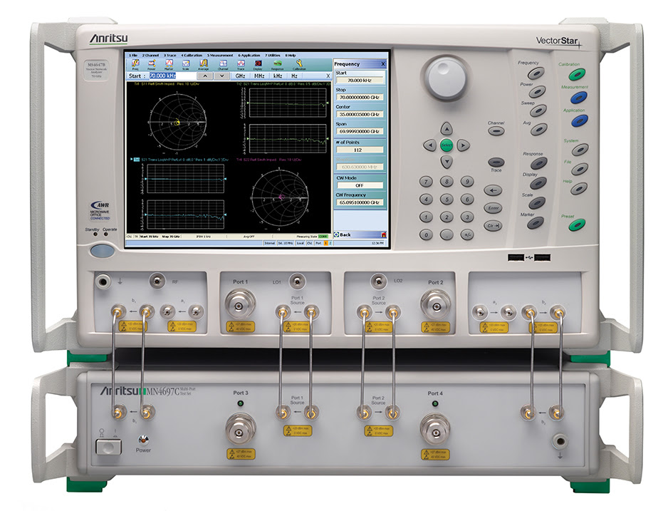 Anritsu Company Introduces 4-port Test Set for VectorStar™ VNA Family