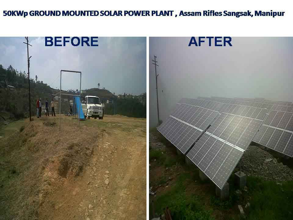 Assam Rifles switches to solar for power generation in remote locations