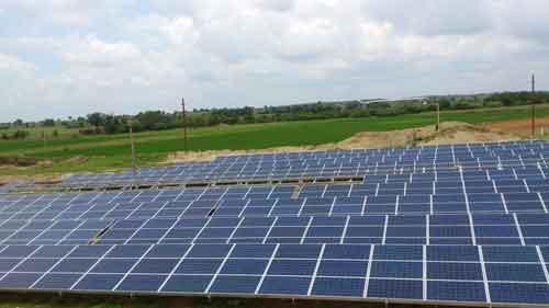 10MW Solar Power Project at Midjil in Andhra Pradesh