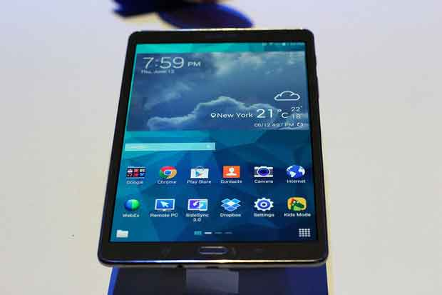 Samsung debuted long awaited Thin, Light Galaxy Tab S