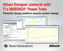 Altium System design using WEBENCH power supply tools