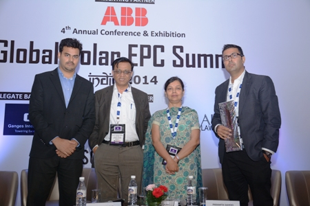Rays Power Infra talks about their upcoming projects at the Global solar EPC summit 2014
