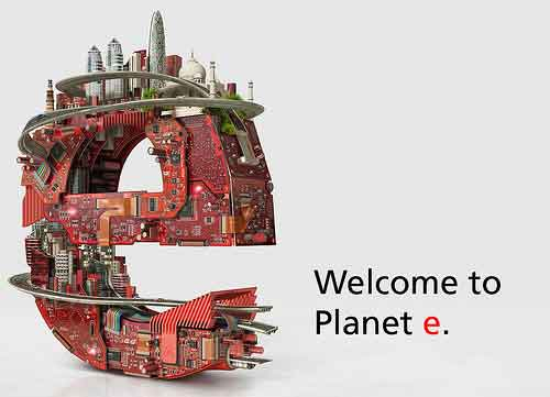 electronica new campaign 'Welcome to Planet e'