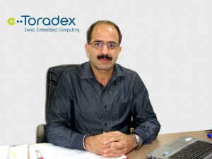 Mr. Sanjay Malla, CEO, Toradex Systems (India) Pvt. Ltd.