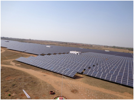 Functioning of a Solar Plant