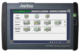 Anritsu launches All-In-One MT1000A Network Master Pro