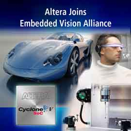Altera Joins the Embedded Vision Alliance